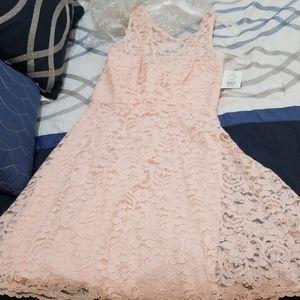 Girls Petal Pink Dress